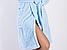 Халат женский махровый голубой DianaDK, фото 3
