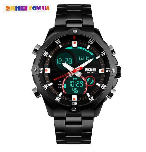Чоловічі наручні годинники SKMEI 1146 (Black)