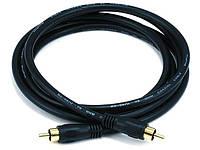 Коаксиальный кабель Monoprice для S/PDIF, Digital Coax.  1.8 метра, фото 1