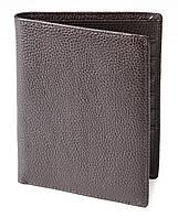 Кошелек SHVIGEL 13832 кожаный с отделениями для паспортов Коричневый, фото 1