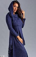 Стильное нарядное платье демисезонное большие размеры: 58,60,62, фото 3
