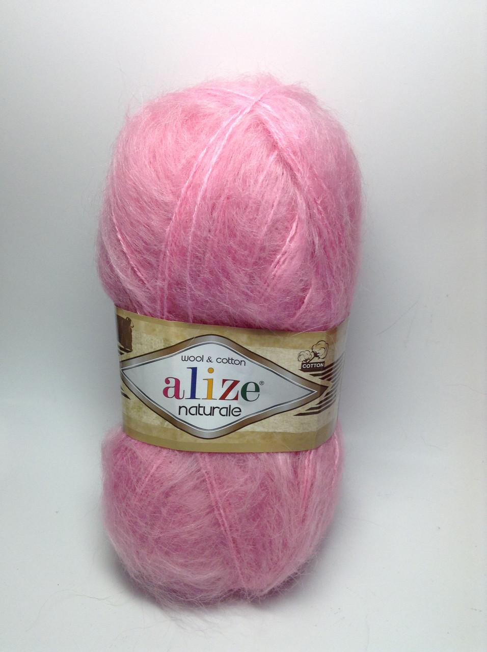 Пряжа naturale Alize wool & cotton