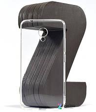 Чохол-накладка SMTT для Meizu M5c Ultra ser. Прозорий/безколірний, фото 3