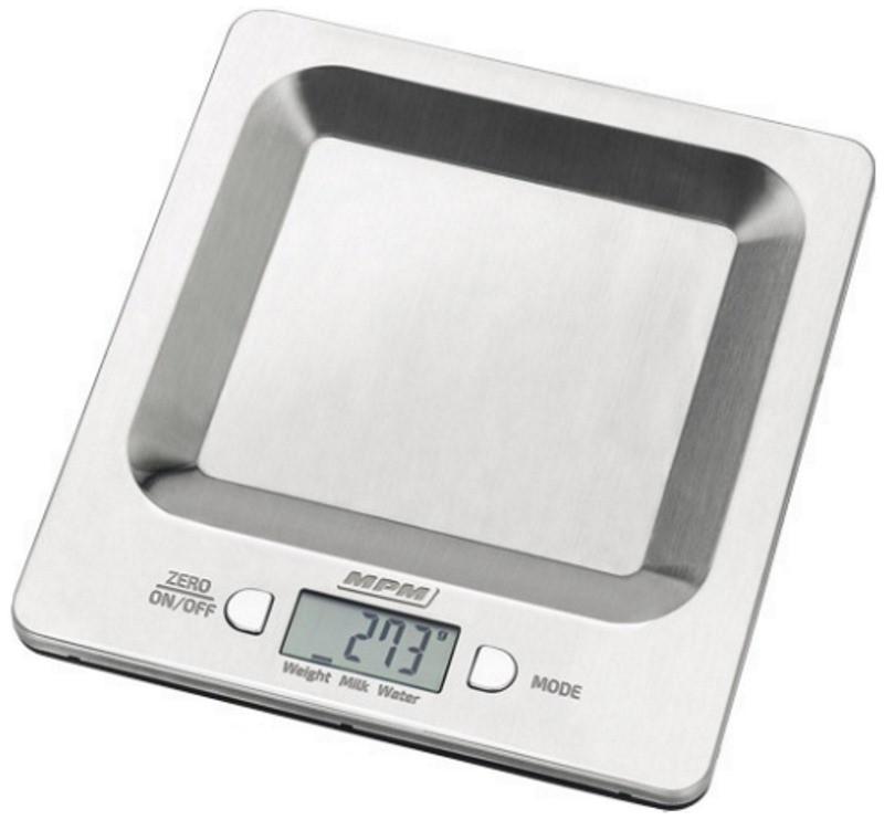 Весы кухонные MPM MWK-04M Нержавейка