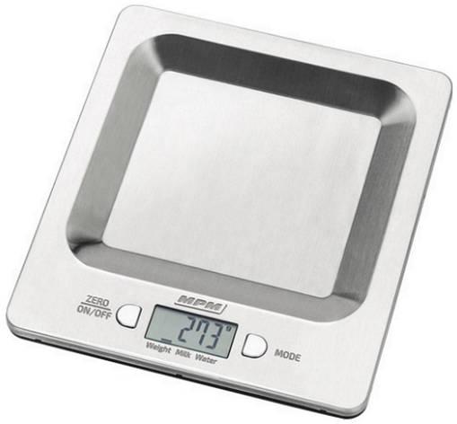 Весы кухонные MPM MWK-04M Нержавейка, фото 2