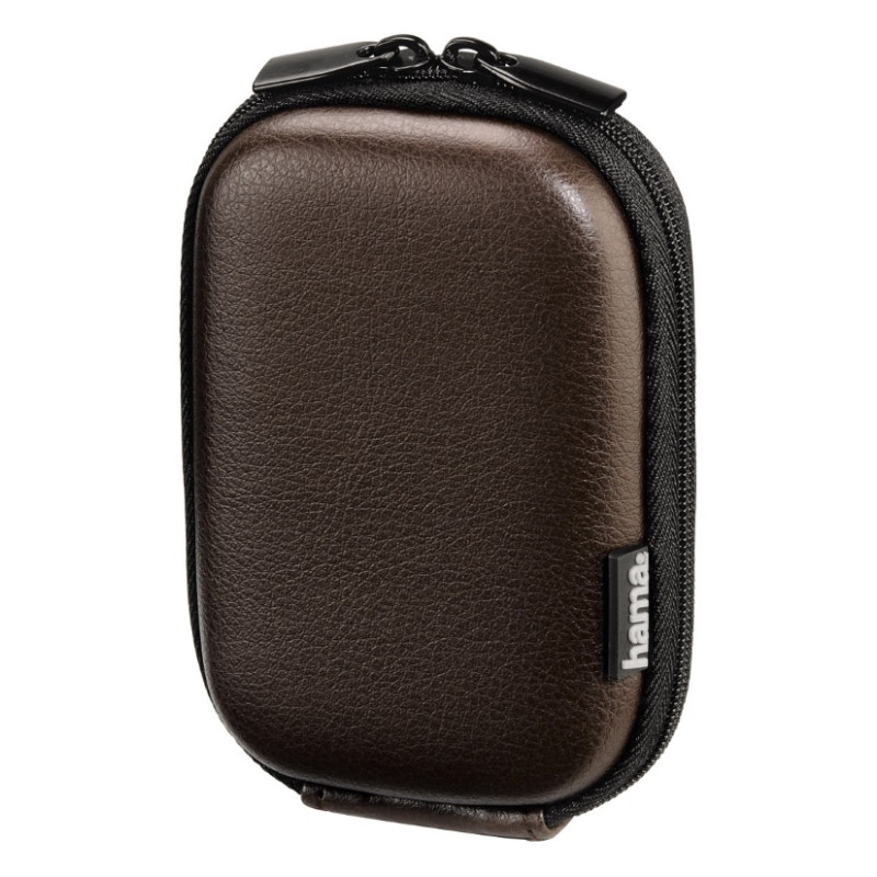 Чехол-футляр Hama для фотоаппаратов (70x40x110мм) Leather Look ser. коричневый