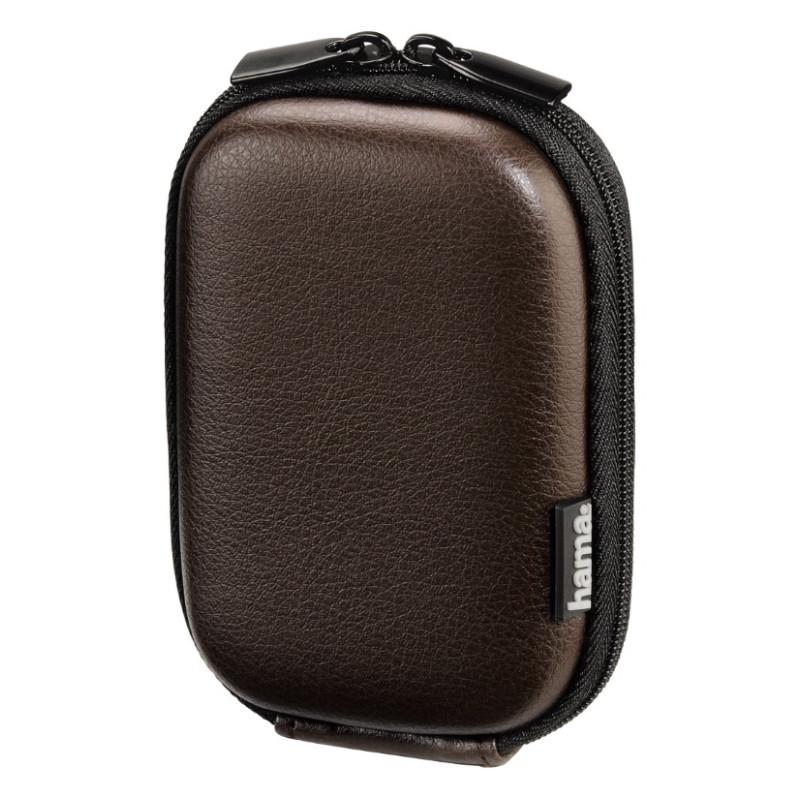 Чохол-футляр Hama для Фотоапарата (70x40x110мм) Leather Look ser. Коричневий