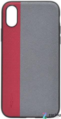 """Чохол-накладка ROCK RPC1315 для iPhone X (5.8"""") Origin Pro ser. Червоний, фото 2"""