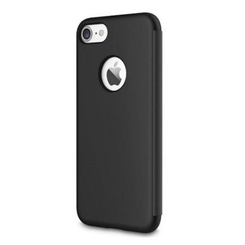 """Чохол-книжка Rock для iPhone 7 (4.7"""") Dr.V ser. Чорний"""