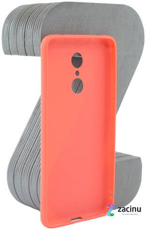 Чехол накладка Candy для Xiaomi Redmi 5 Силиконовый Красный (420234), фото 2