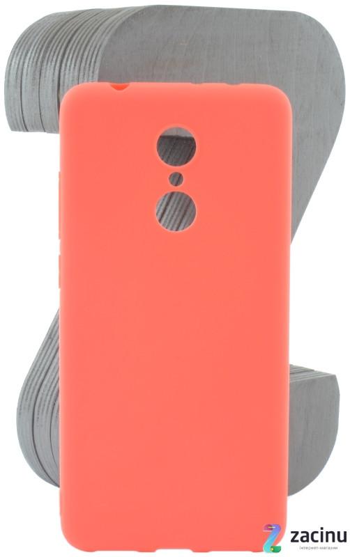 Чехол накладка Candy для Xiaomi Redmi 5 Силиконовый Красный (420234)