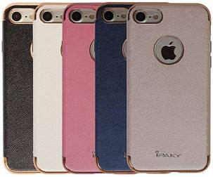 """Чехол накладка iPaky для iPhone 7 (4.7 """") Chrome ser. Розовый, фото 2"""