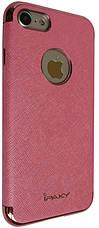 """Чехол накладка iPaky для iPhone 7 (4.7 """") Chrome ser. Розовый, фото 3"""