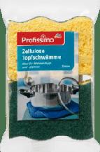 Губки для миття посуду Profissimo Topfreiniger Zellulose Topfschwämme
