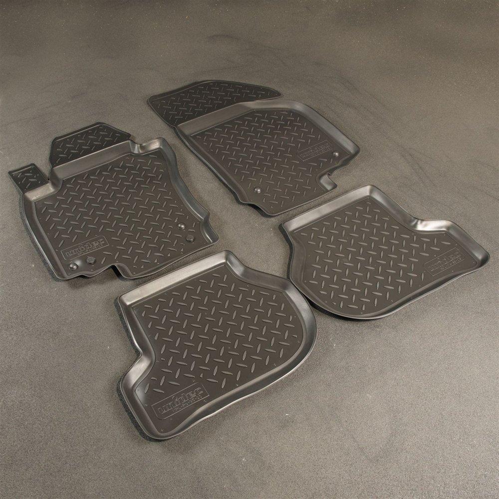 Коврики в салон для Volkswagen Jetta (05-11) (полиур., компл - 4шт) NPL-Po-95-23