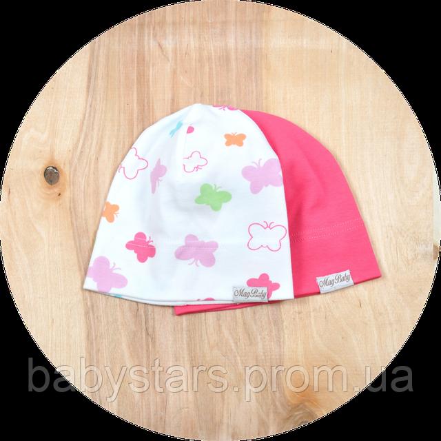трикотажная шапочка для новорожденного
