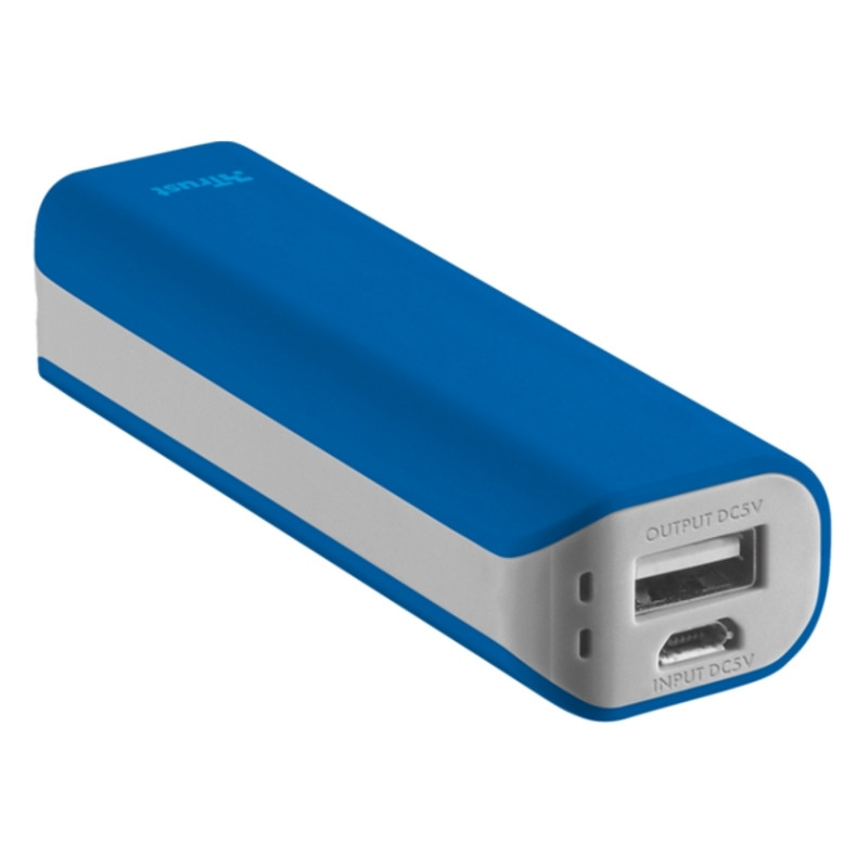 Power Bank TRUST Primo Power Bank 2200 мАг/ Blue