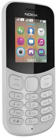 Мобільний телефон NOKIA 130 Dual SIM (grey) TA-1017, фото 2
