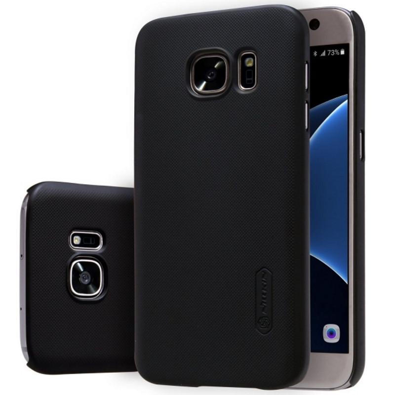 Чохол-накладка Nillkin для Samsung G930F S7 Matte ser. +плівка Чорний