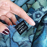 10457-13, павлопосадский шарф-палантин шерстяной (разреженная шерсть) с осыпкой, фото 5