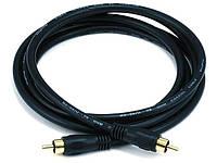 Коаксиальный кабель Monoprice для S/PDIF, Digital Coax.  3 метра, фото 1