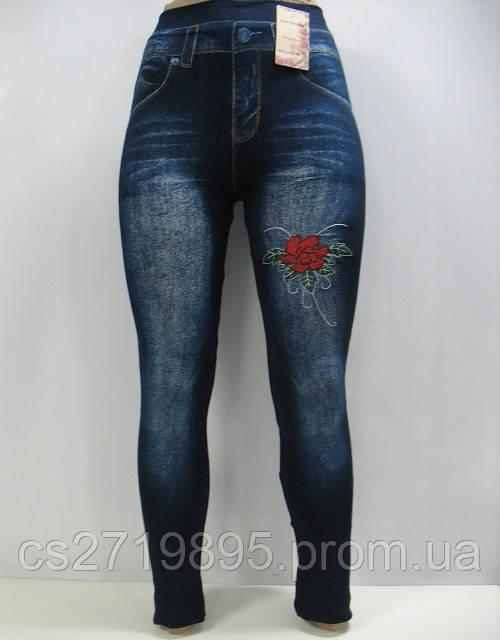 Лосины женские  ЛАСТОЧКА 513-10 бесшовные под джинс