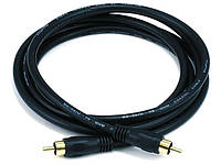 Коаксиальный кабель Monoprice для S/PDIF, Digital Coax.  4.5 метра