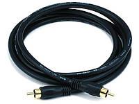 Коаксиальный кабель Monoprice для S/PDIF, Digital Coax.  4.5 метра, фото 1