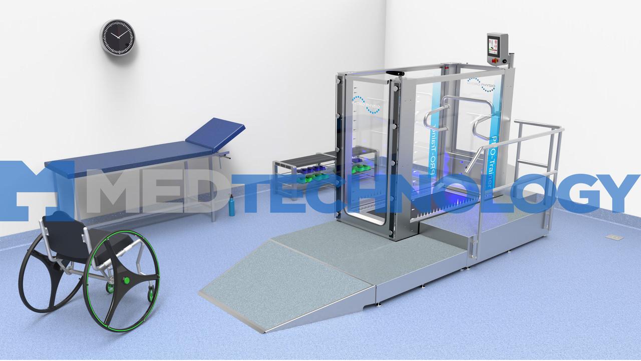 Pro-Trainer (Hydro Physio) Подводная беговая дорожка