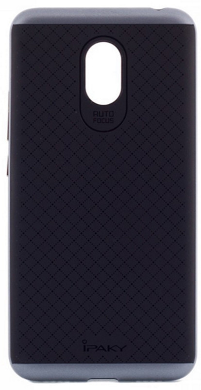 Чехол накладка iPaky для Meizu M3 Note TPU + PC Черный / серый