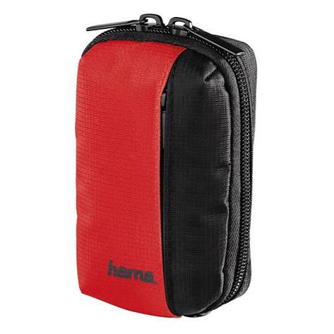 Чохол-футляр Hama для Фотоапарата (65x30x110мм) Fancy Sports ser. Чорний/червоний(00121852), фото 2