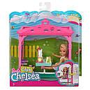 Кукла Барби клуб Челси Пикник в беседке Barbie Club Chelsea Picnic FDB34, фото 9