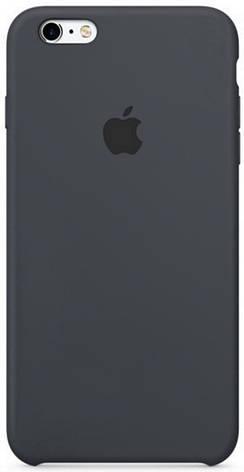 "Чохол-накладка для iPhone 6/6S (4.7"") Silicon Case ser. (veri high copi) Сірий(Dark Grey), фото 2"