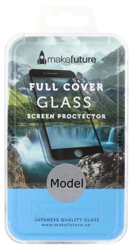 Захисне Скло Make Future Xiaomi Redmi Note 5A Full Cover ser. Прозорий/ чорний