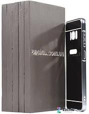 Чохол-бампер для Samsung G950 S8 з акриловою вставкою Чорний, фото 3