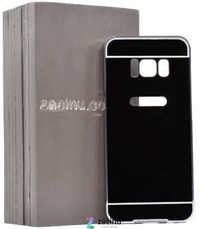 Чохол-бампер для Samsung G950 S8 з акриловою вставкою Чорний, фото 2