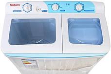 Пральна машина Saturn ST-WK7606 (напівавтомат), фото 3
