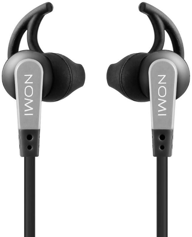 Навушники Nomi NHS-107 Чорний/ сірий