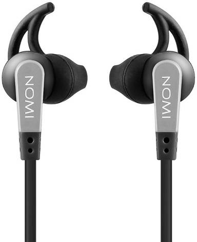 Навушники Nomi NHS-107 Чорний/ сірий, фото 2