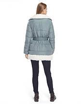 Tiger Force 5153   Зимняя куртка женская голубая, фото 3