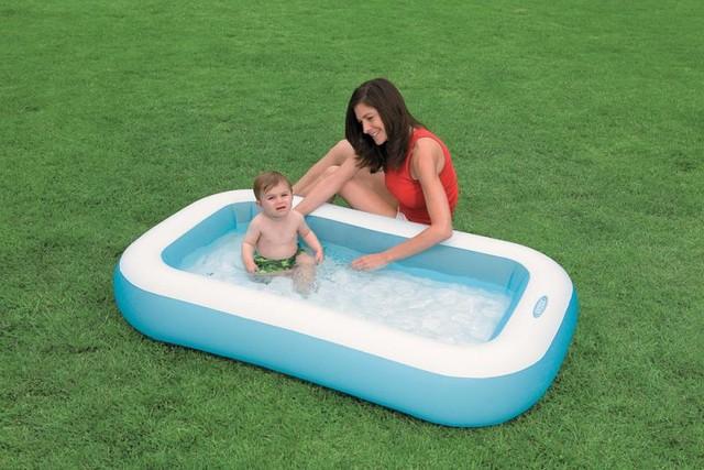 Детский надувной бассейн Intex 57403 (166х100х28см.)