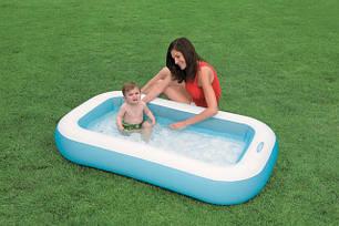 Детский надувной бассейн Intex 57403 (166х100х28см.), фото 2
