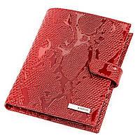 Портмоне вертикальное KARYA 17118 кожа Красное, фото 1