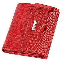 Кошелек женский KARYA 17145 кожаный Красный, фото 1