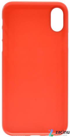 """Чохол-накладка ROCK RPC1323 для iPhone X (5.8"""") Naked Shell ser. Червоний/матовий, фото 2"""