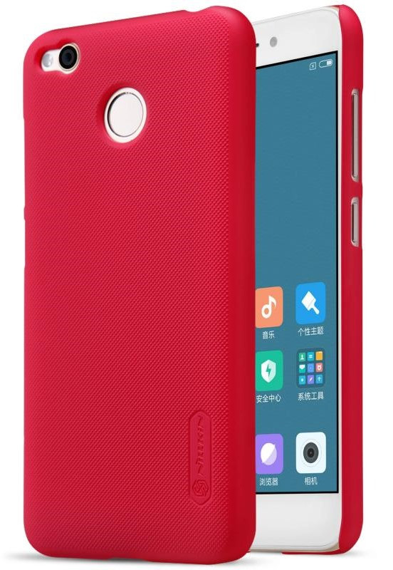 Чохол-накладка Nillkin для Xiaomi Redmi 4X Matte ser. +плівка Червоний