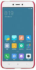 Чохол-накладка Nillkin для Xiaomi Redmi 4X Matte ser. +плівка Червоний, фото 2