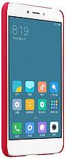 Чохол-накладка Nillkin для Xiaomi Redmi 4X Matte ser. +плівка Червоний, фото 3