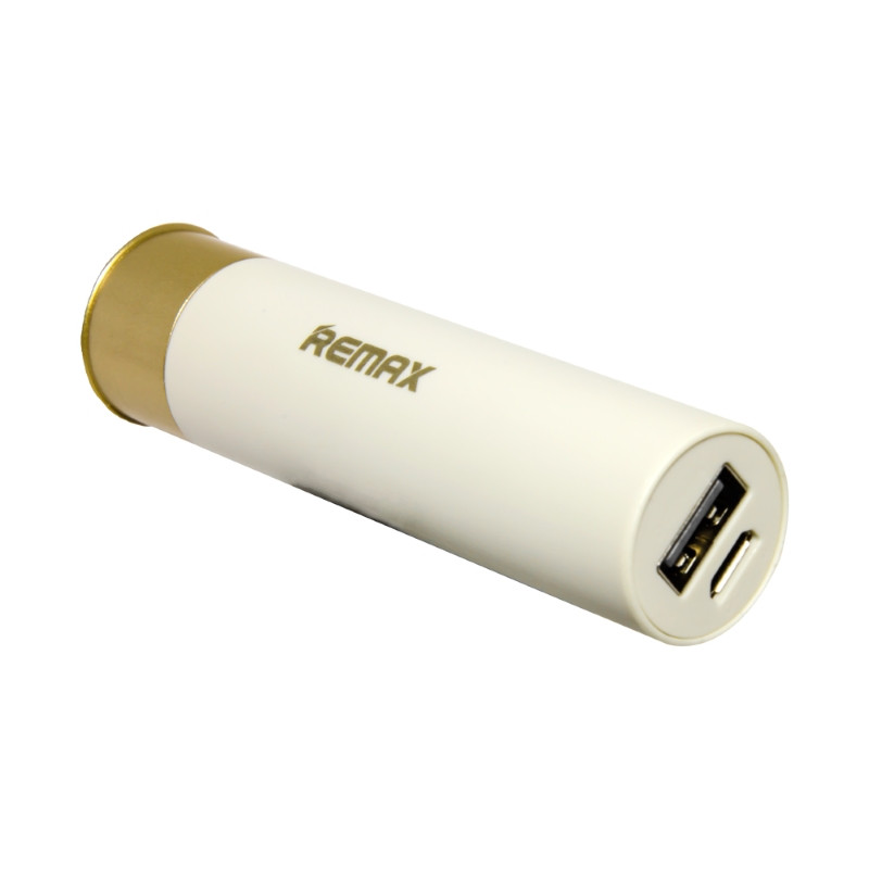 Power Bank REMAX RPL-18 2500 мАг Shell White