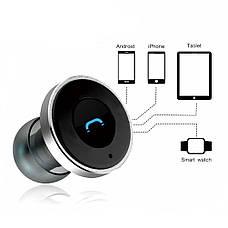 Bluetooth-гарнитура REMAX RB-T11C / 3в1 / Черный-серый, фото 3